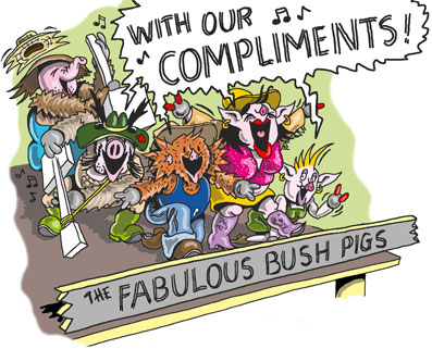 """Band sing """"With Compliments"""""""