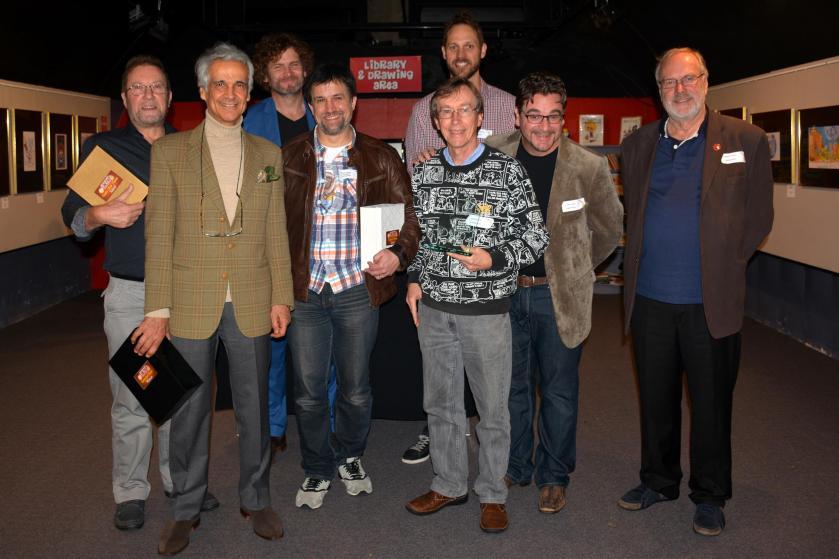 Winners 2016 Coffs Harbour Rotary cartoon Awards