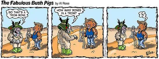 How many Trom bones?