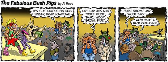 pig dog glam rock