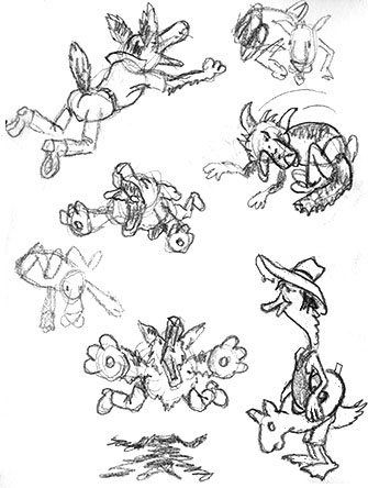 Border Collie roughs 1