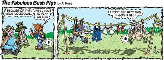 band online...clothesline