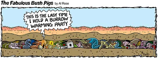 party in small burrow