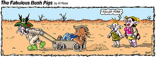 pig pulls Pig